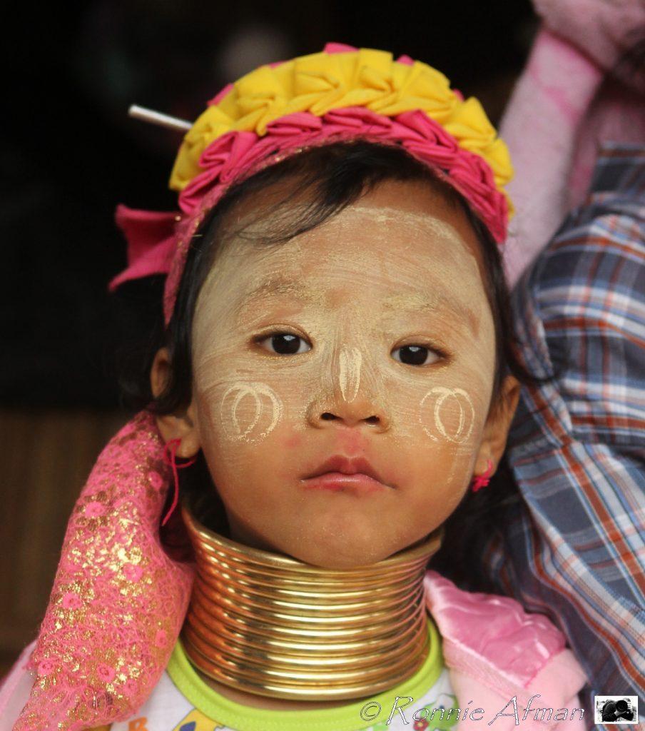 Thais 'longneck' meisje